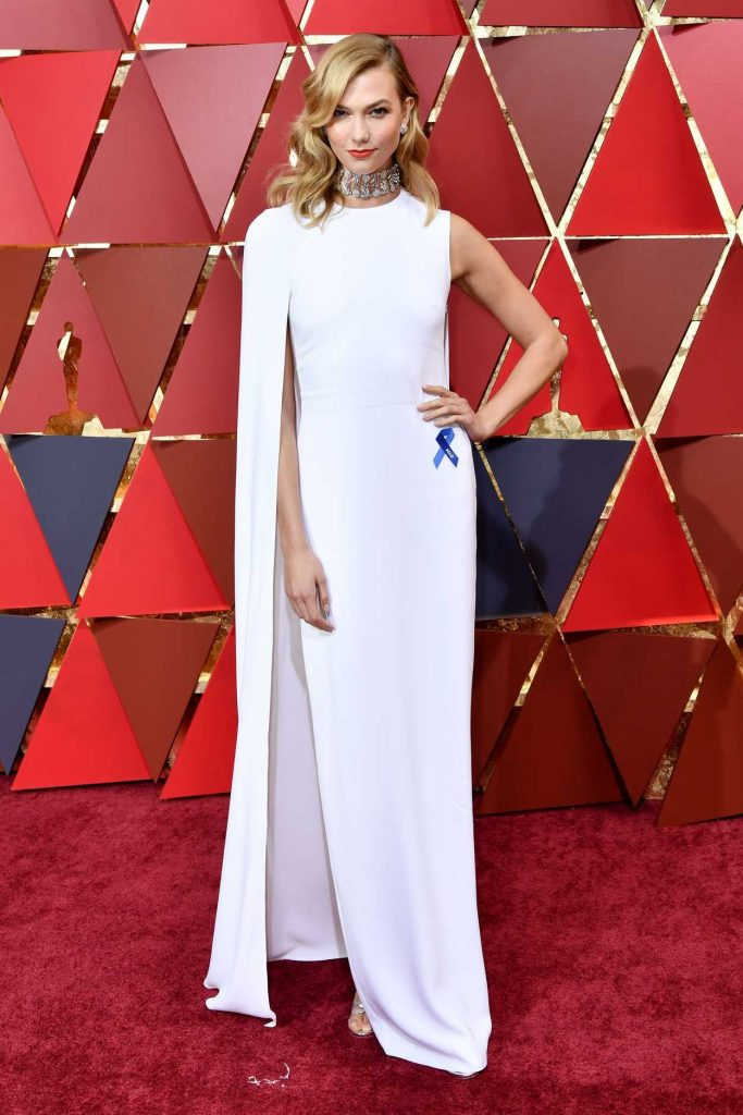 Karlie Kloss at the the 89th Annual Academy Awards in Hollywood 02/26/2017-1