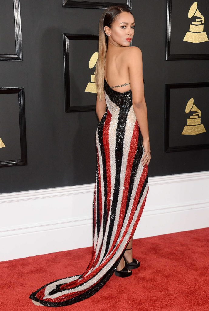 Kat Graham at the 59th Grammy Awards in Los Angeles 02/12/2017-3