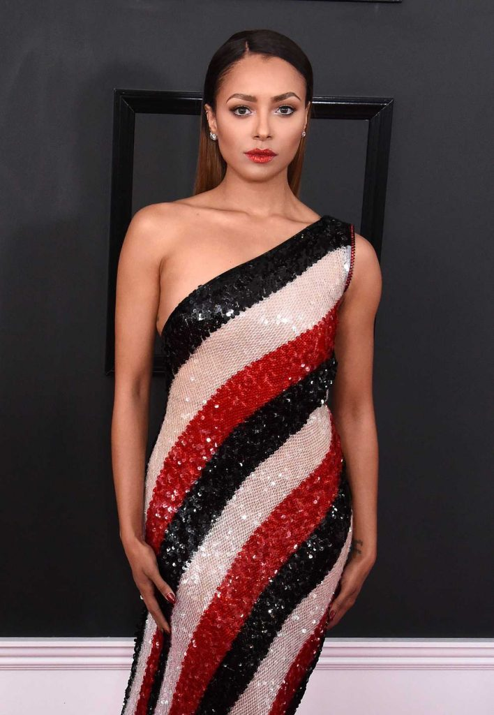 Kat Graham at the 59th Grammy Awards in Los Angeles 02/12/2017-4