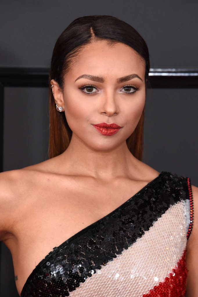Kat Graham at the 59th Grammy Awards in Los Angeles 02/12/2017-5