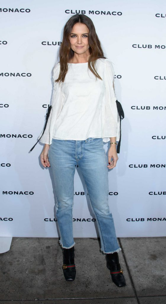 Katie Holmes at the Club Monaco Fashion Presentation During the New York Fashion Week 02/10/2017-1