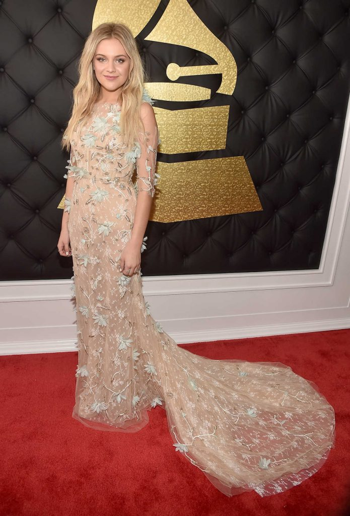 Kelsea Ballerini at the 59th Grammy Awards in Los Angeles 02/12/2017-1