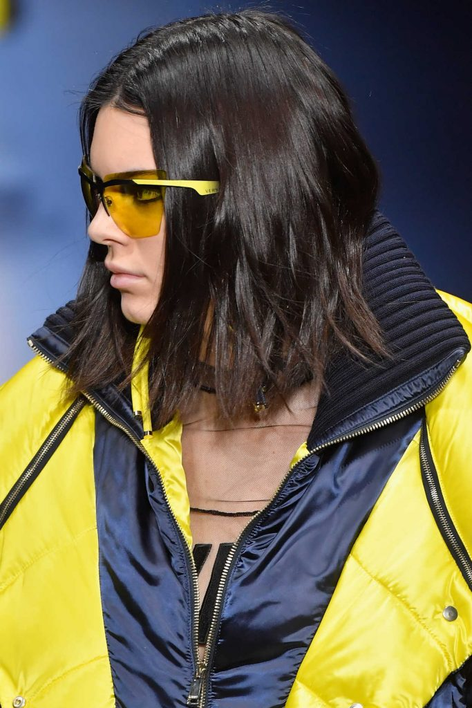 Kendall Jenner at the Versace Show During the Milan Fashion Week 02/24/2017-3