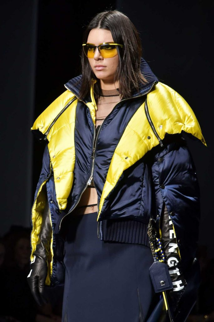 Kendall Jenner at the Versace Show During the Milan Fashion Week 02/24/2017-4