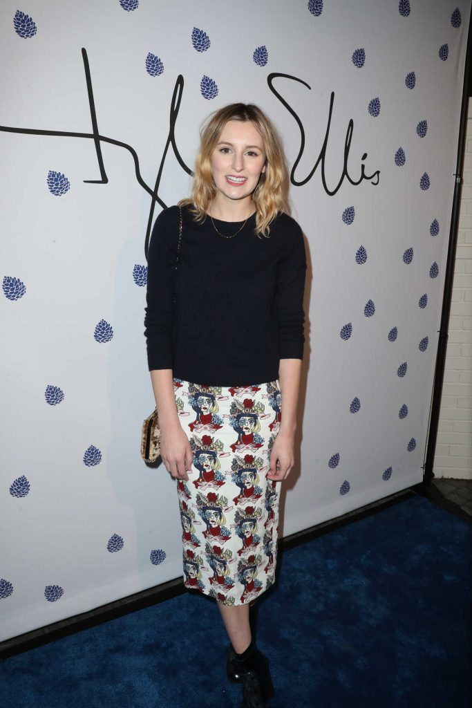 Laura Carmichael at the Tyler Ellis Celebrates 5th Anniversary at Chateau Marmont in West Hollywood 01/31/2017-1
