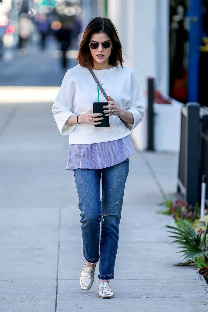 Lucy Hale Was Seen Out in Beverly Hills 01/31/2017-1