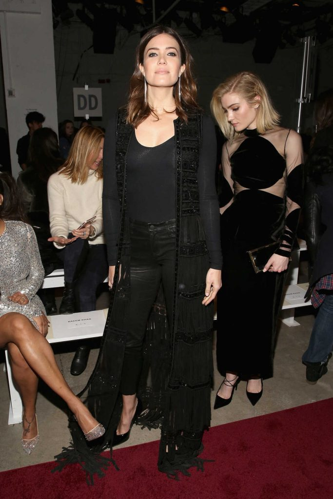 Mandy Moore at the Naeem Khan Collection Launch During the New York Fashion Week 02/14/2017-1