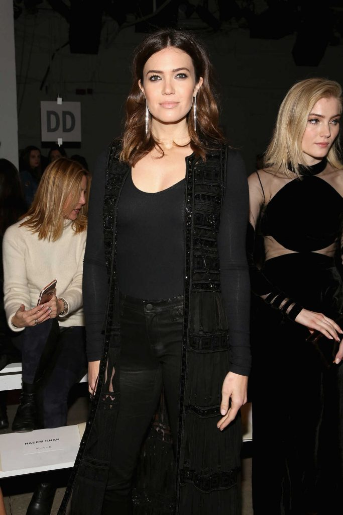 Mandy Moore at the Naeem Khan Collection Launch During the New York Fashion Week 02/14/2017-2