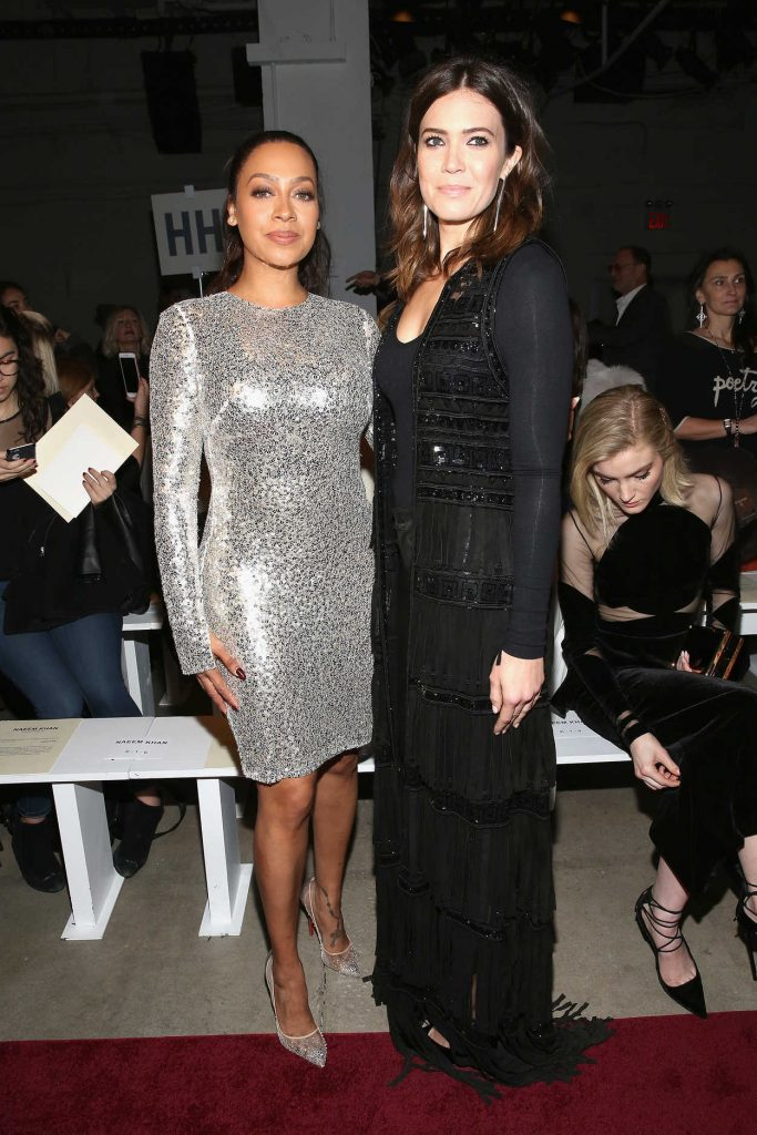 Mandy Moore at the Naeem Khan Collection Launch During the New York Fashion Week 02/14/2017-4