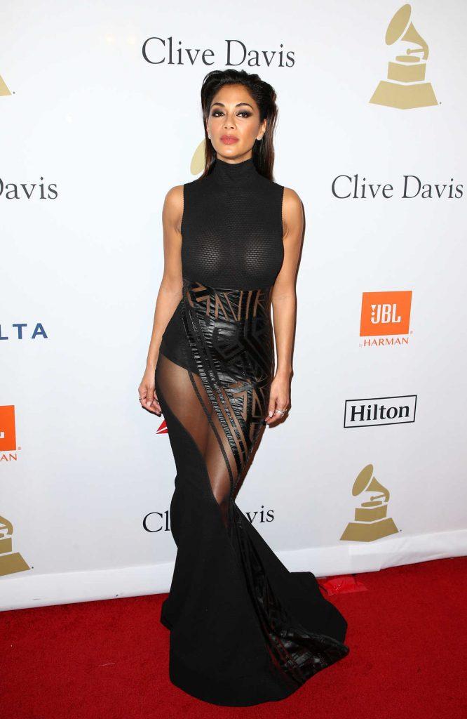 Nicole Scherzinger at the Clive Davis Pre-Grammy Party in Los Angeles 02/11/2017-1
