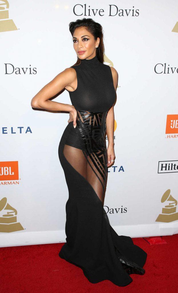 Nicole Scherzinger at the Clive Davis Pre-Grammy Party in Los Angeles 02/11/2017-2