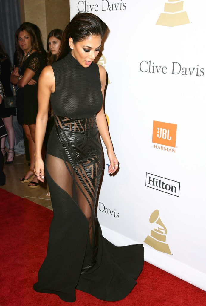Nicole Scherzinger at the Clive Davis Pre-Grammy Party in Los Angeles 02/11/2017-3