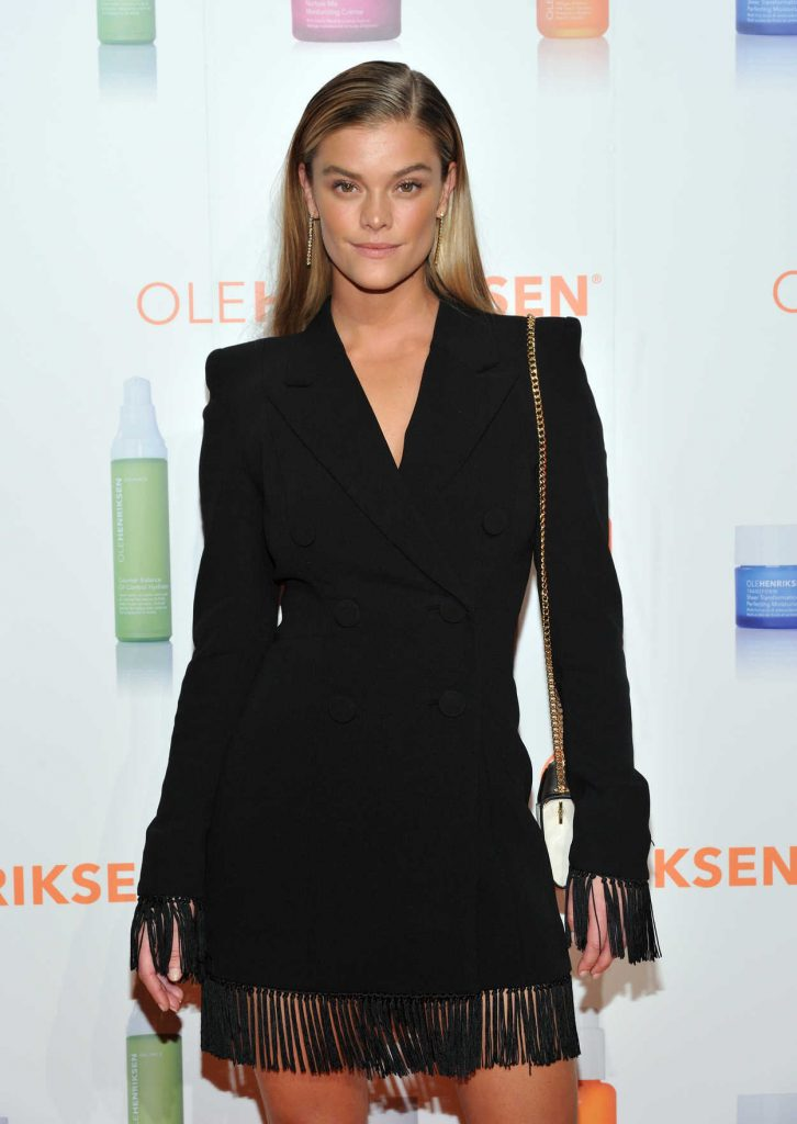 Nina Agdal at Celebration of the Ole Henrikson Collection in New York 02/23/2017-1