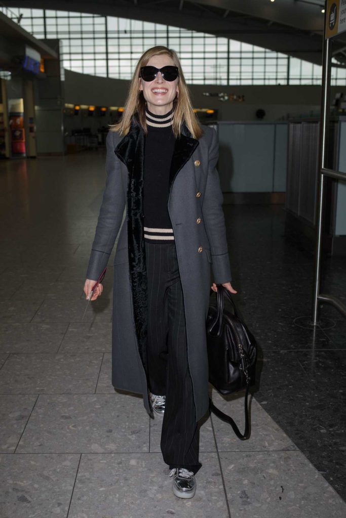 Rosamund Pike Was Seen at Heathrow Airport in London 02/03/2017-2