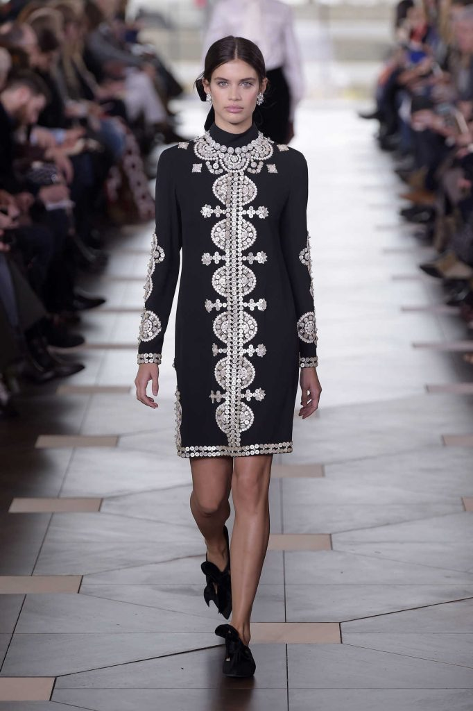 Sara Sampaio at the 2017 Tory Burch Show During the New York Fashion Week 02/14/2017-2