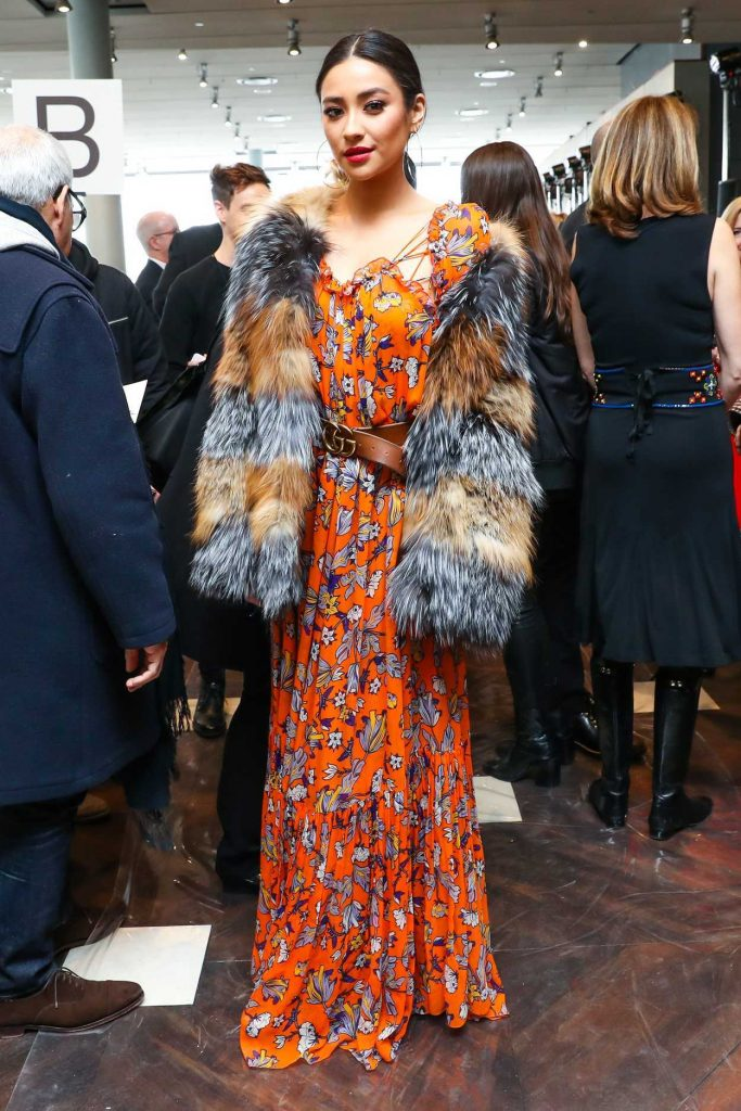 Shay Mitchell at the 2017 Tory Burch Show During the New York Fashion Week 02/14/2017-2