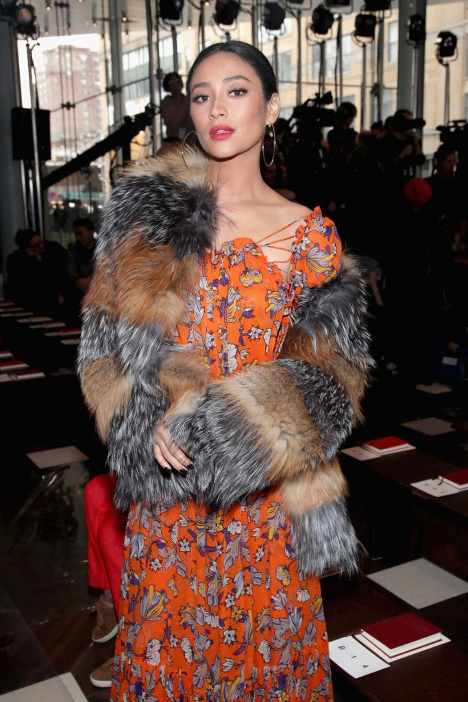 Shay Mitchell at the 2017 Tory Burch Show During the New York Fashion Week 02/14/2017-5