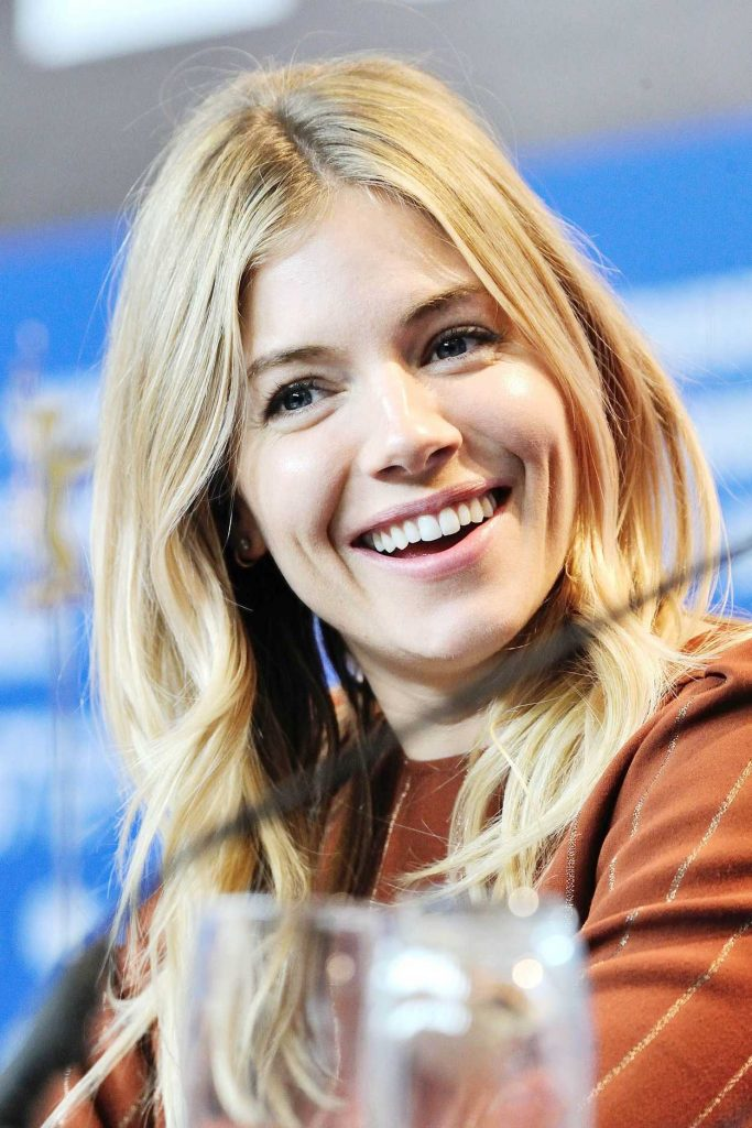 Sienna Miller at The Lost City of Z Press Conference During 67th Berlinale International Film Festival 02/14/2017-2