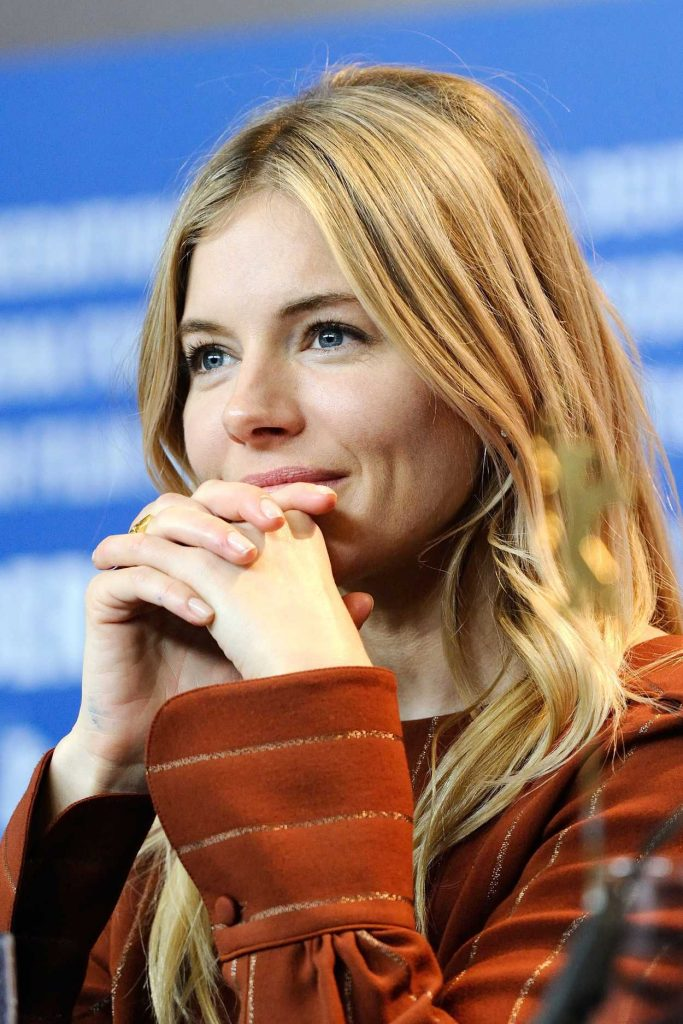 Sienna Miller at The Lost City of Z Press Conference During 67th Berlinale International Film Festival 02/14/2017-3