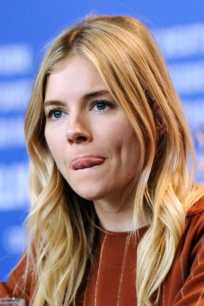 Sienna Miller at The Lost City of Z Press Conference During 67th Berlinale International Film Festival 02/14/2017-5