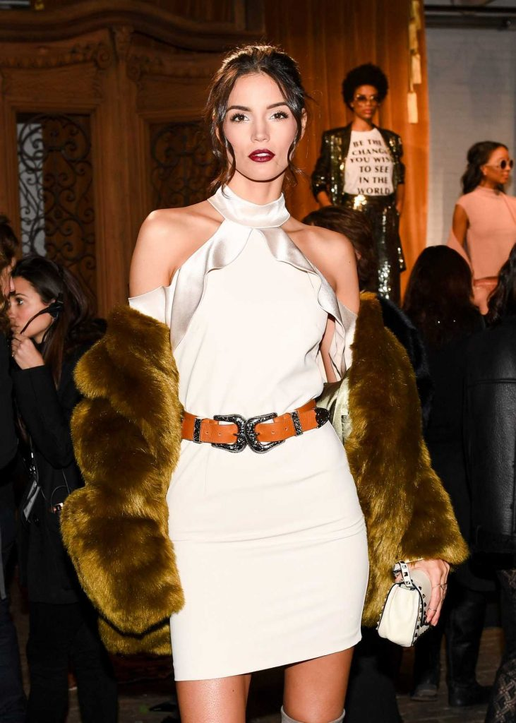 Sofia Resing at the Alice and Olivia Presentation During the New York Fashion Week 02/14/2017-1