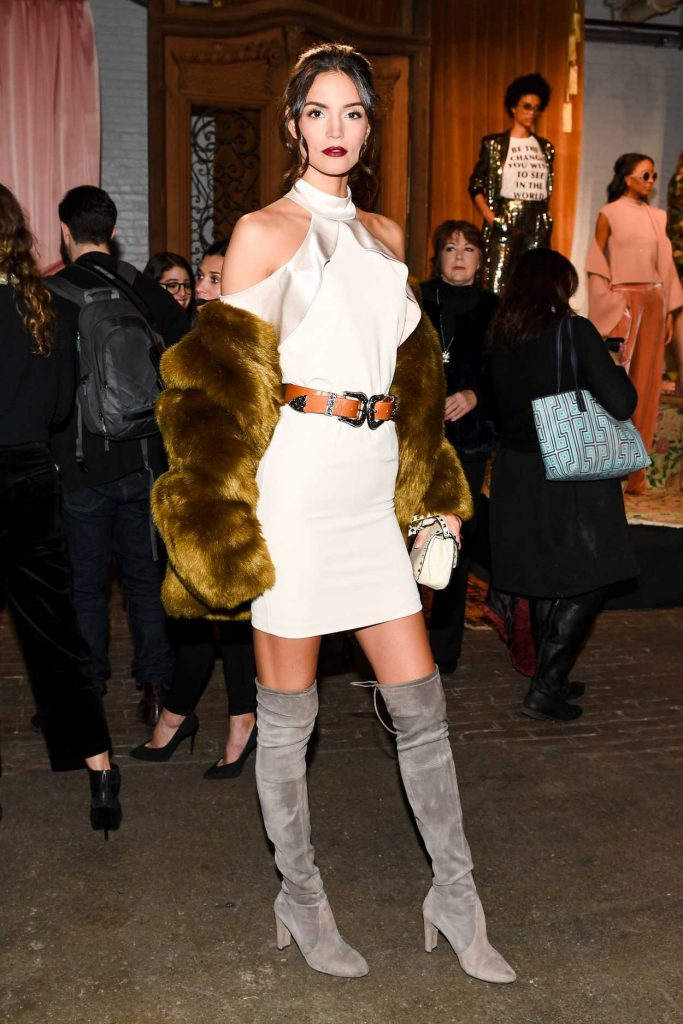 Sofia Resing at the Alice and Olivia Presentation During the New York Fashion Week 02/14/2017-2