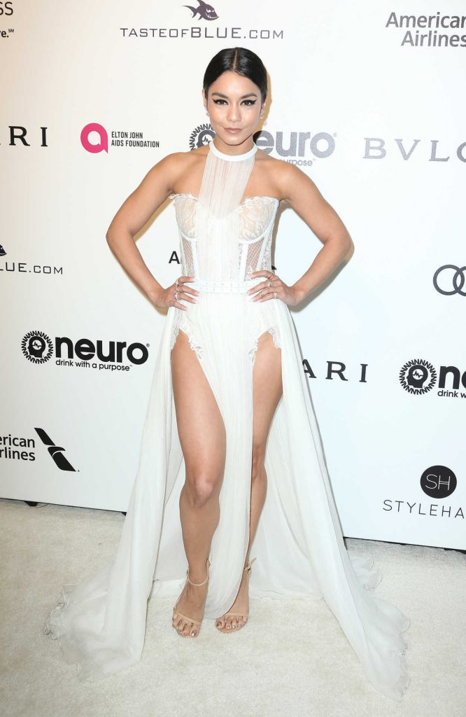 Vanessa Hudgens at Elton John AIDS Foundation Academy Awards Viewing Party in Los Angeles 02/26/2017-1