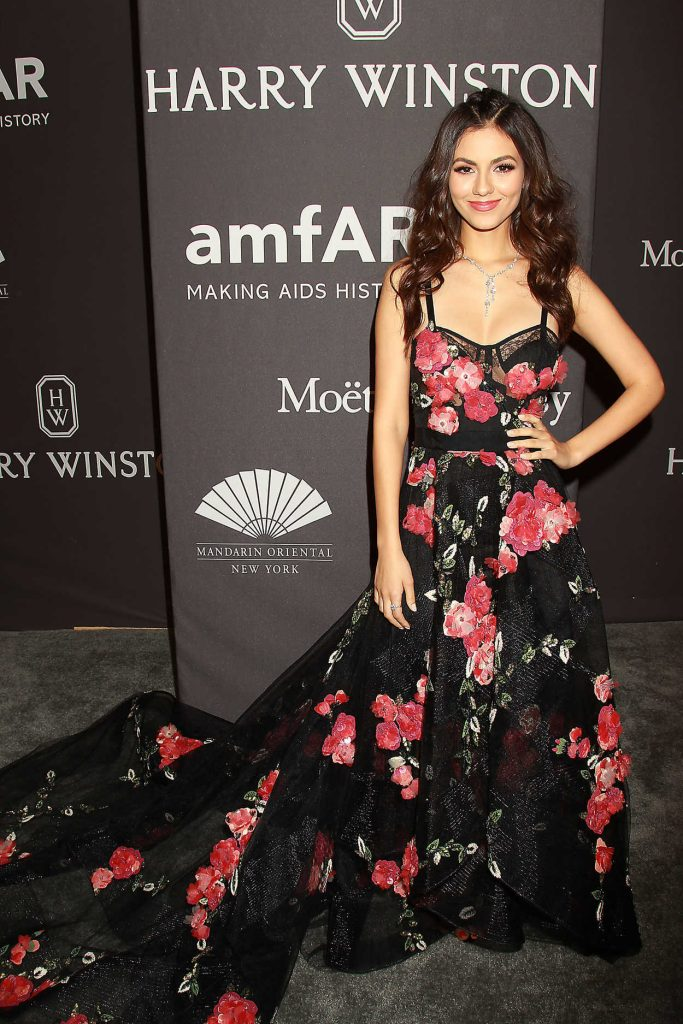Victoria Justice at amfAR New York Gala in NYC 02/08/2017-1
