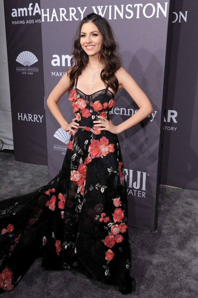 Victoria Justice at amfAR New York Gala in NYC 02/08/2017-2
