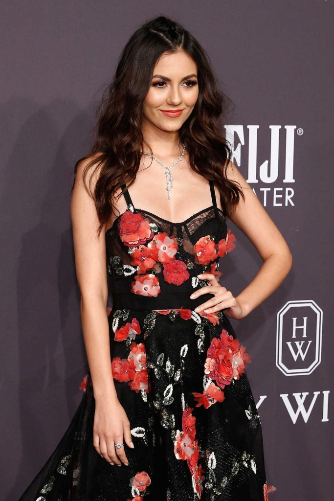 Victoria Justice at amfAR New York Gala in NYC 02/08/2017-4