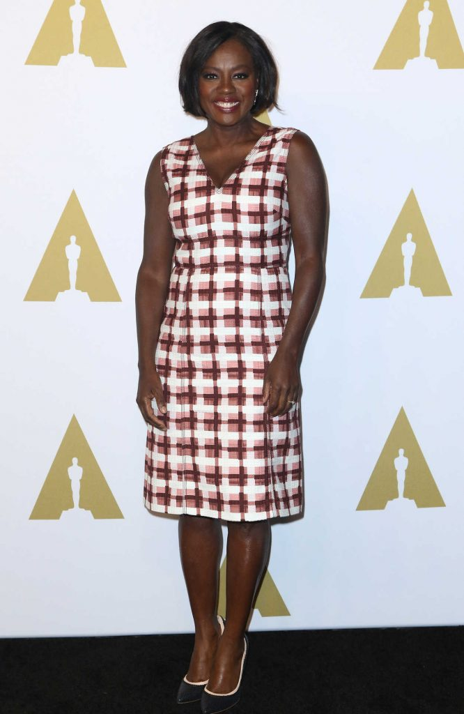 Viola Davis at the 89th Annual Academy Awards Nominee Luncheon in Beverly Hills 02/06/2017-1