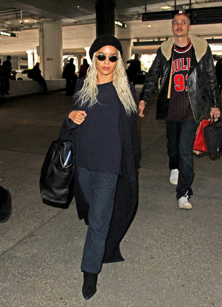 Zoe Kravitz Was Seen at LAX Airport in Los Angeles 02/27/2017-1
