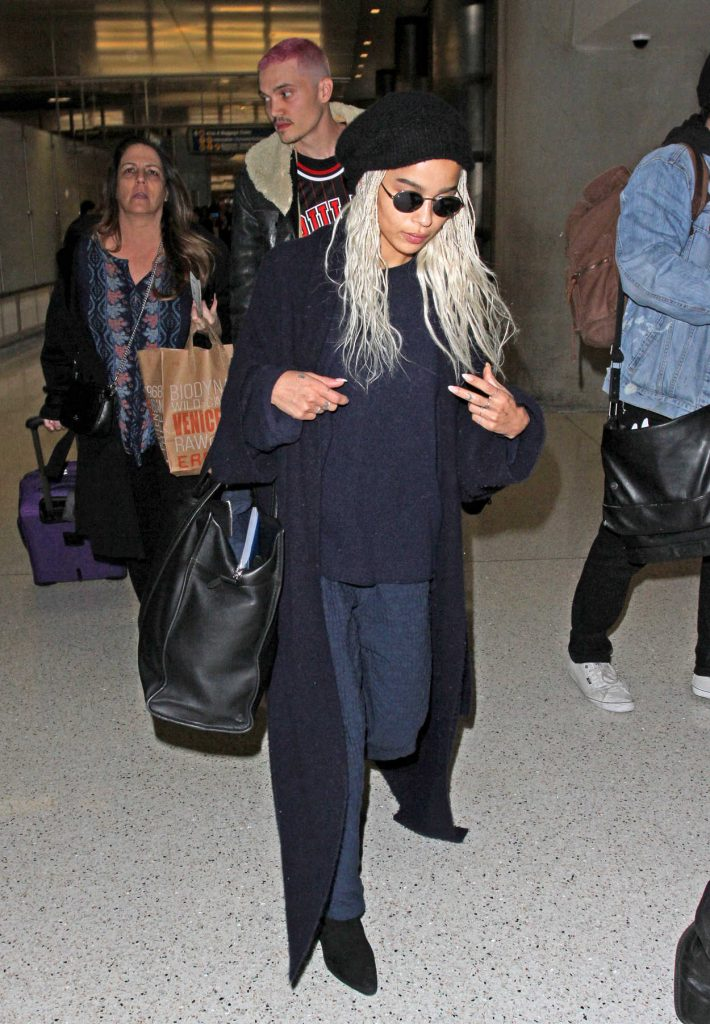 Zoe Kravitz Was Seen at LAX Airport in Los Angeles 02/27/2017-2