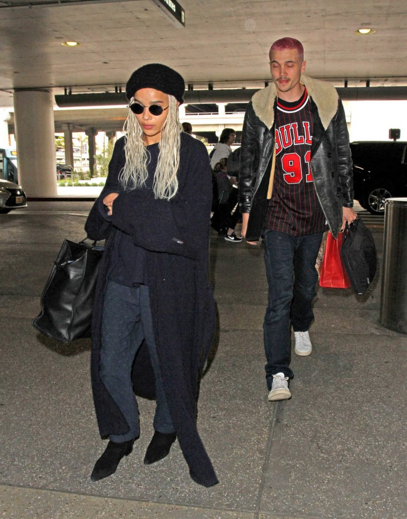 Zoe Kravitz Was Seen at LAX Airport in Los Angeles 02/27/2017-3