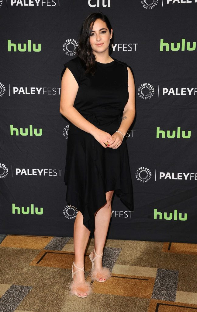 Alanna Masterson at The Walking Dead Presentation During the 34th Annual PaleyFest in LA 03/17/2017-2