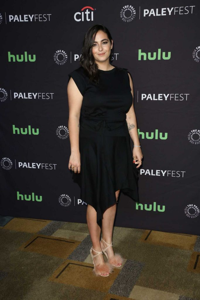 Alanna Masterson at The Walking Dead Presentation During the 34th Annual PaleyFest in LA 03/17/2017-3