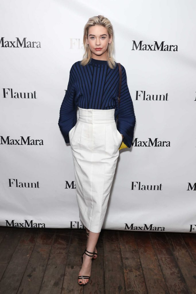Amanda Steele at the Max Mara x Flaunt Dinner in Los Angeles 03/18/2017-1