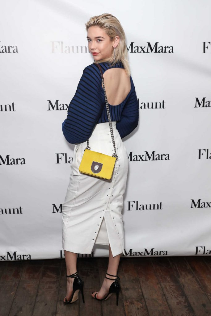 Amanda Steele at the Max Mara x Flaunt Dinner in Los Angeles 03/18/2017-2