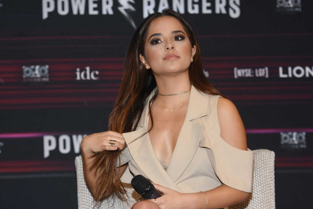 Becky G at the Power Rangers Press Conference in Mexico City 03/15/2017-2