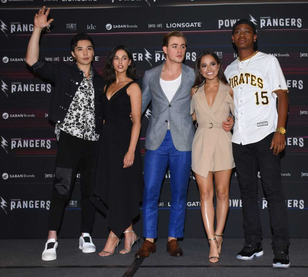 Becky G at the Power Rangers Press Conference in Mexico City 03/15/2017-4