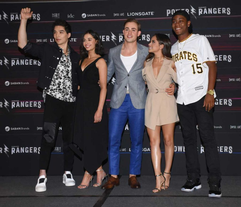 Becky G at the Power Rangers Press Conference in Mexico City 03/15/2017-5