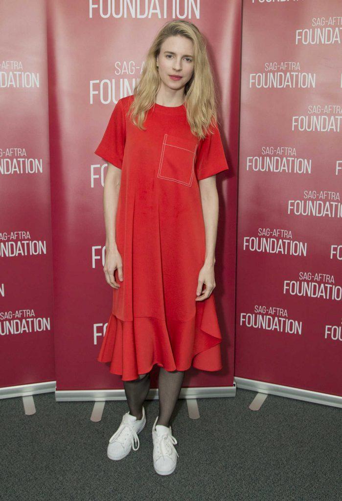 Brit Marling Attends SAG-AFTRA Foundation in Los Angeles 03/14/2017-1