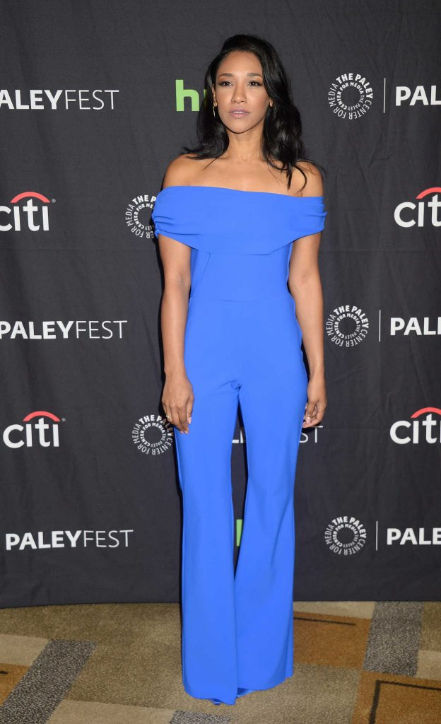 Candice Patton at the PaleyFest LA: CW's Heroes and Aliens in Hollywood 03/18/2017-1