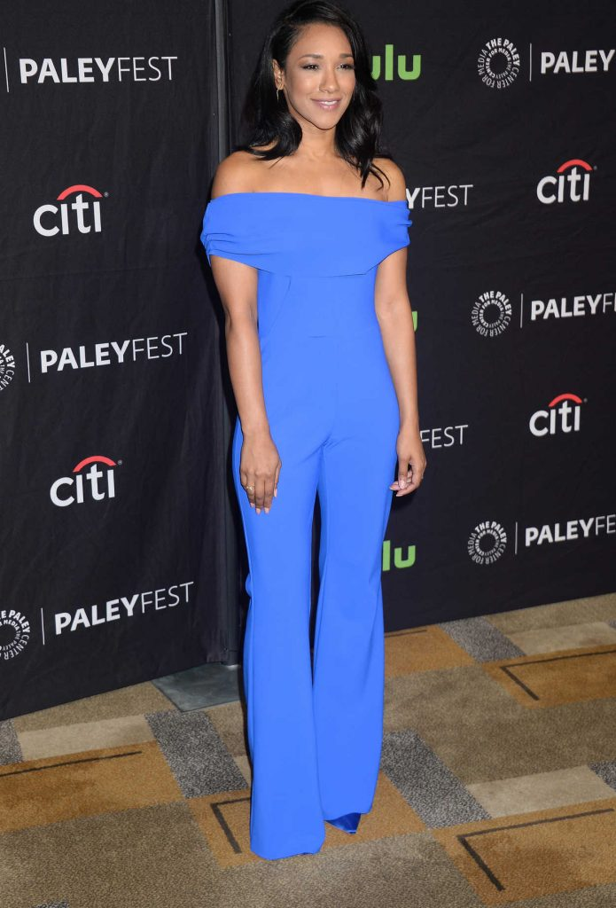 Candice Patton at the PaleyFest LA: CW's Heroes and Aliens in Hollywood 03/18/2017-2