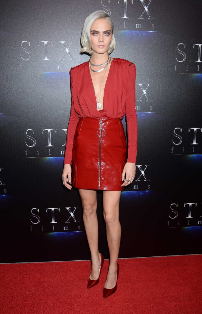 Cara Delevingne at The State of the Industry Presentation During the CinemaCon in Las Vegas 03/28/2017-1