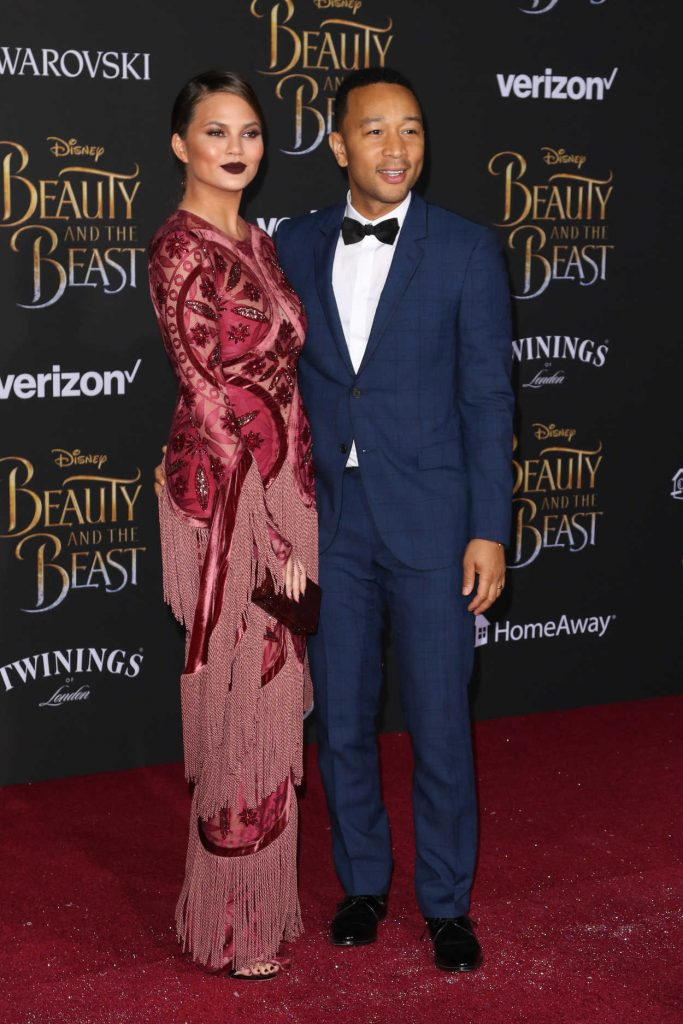 Chrissy Teigen at the Beauty and the Beast Premiere Los Angeles 03/02/2017-5