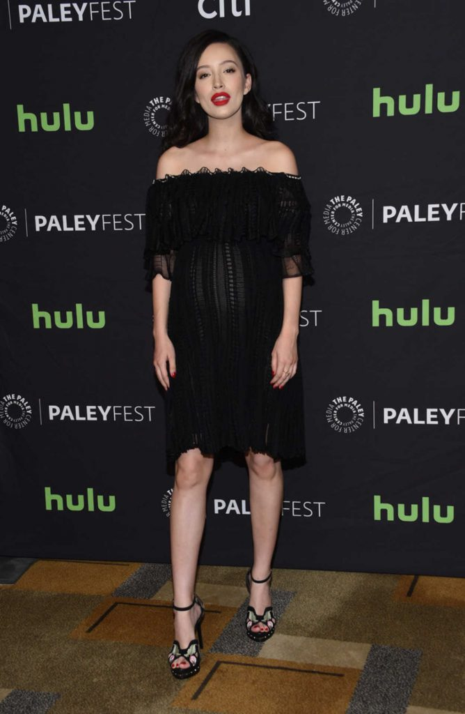 Christian Serratos at The Walking Dead Presentation During the 34th Annual PaleyFest in LA 03/17/2017-1