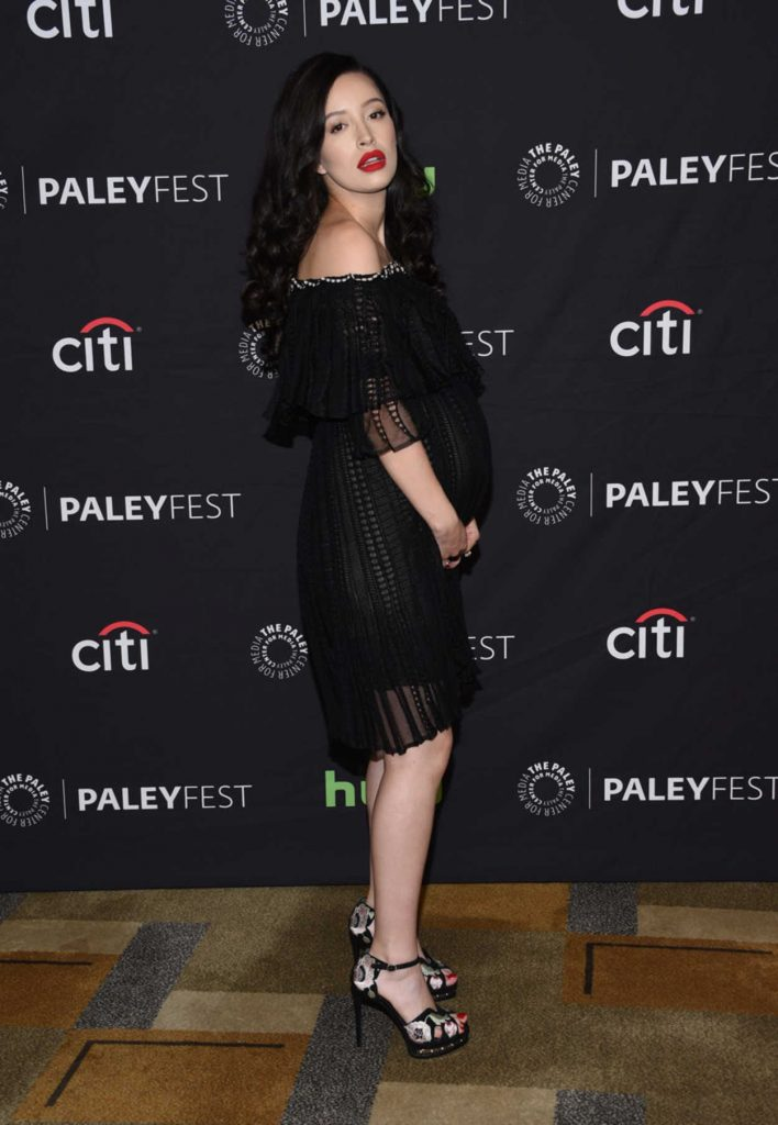 Christian Serratos at The Walking Dead Presentation During the 34th Annual PaleyFest in LA 03/17/2017-4