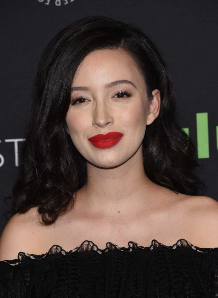 Christian Serratos at The Walking Dead Presentation During the 34th Annual PaleyFest in LA 03/17/2017-5