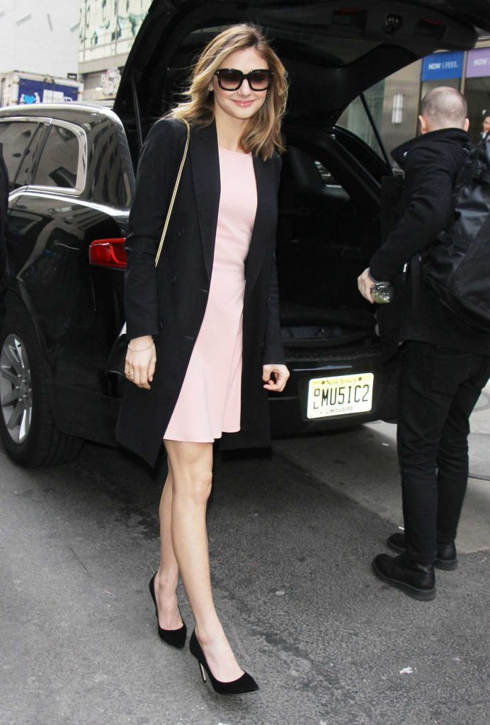 Christine Evangelista Arrives at Today Show in New York 02/27/2017-4